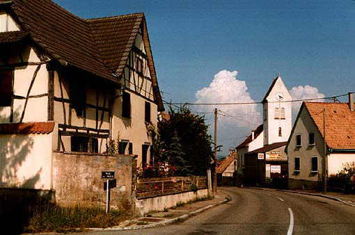 Photo Waltenheim (C) Bernard Lambert 1998